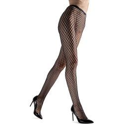 Natori Women's Double Weave Net Tights - Black - Size XL found on Bargain Bro from Saks Fifth Avenue for USD $24.32