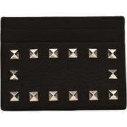 Valentino Garavani Rockstud Leather Card Holder found on Bargain Bro from Saks Fifth Avenue UK for £249