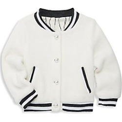 Leah and Rae Baby's & Little Kid's Scout Varsity Jacket - White - Size 6 found on Bargain Bro India from Saks Fifth Avenue for $150.00