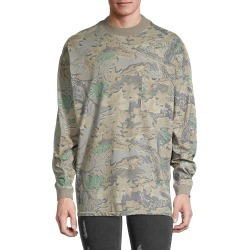 Yeezy Men's Camo Long-Sleeve T-Shirt - Grey Multi - Size XS found on MODAPINS from Saks Fifth Avenue OFF 5TH for USD $99.99