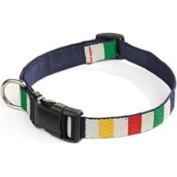 Multi Stripe Large Dog Collar