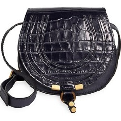 Marcie Croc-Embossed Leather Saddle Bag found on Bargain Bro India from Saks Fifth Avenue AU for $1222.14