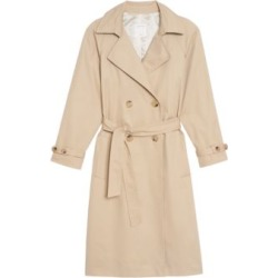Victory Plaid Trench Coat