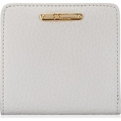 Gigi New York Women's Mini Leather Bi-Fold Wallet - White found on Bargain Bro Philippines from Saks Fifth Avenue for $85.00
