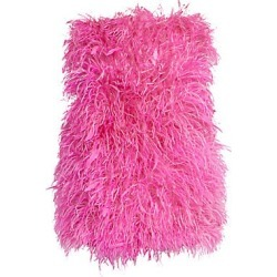 Attico Women's Ostrich Feather Mini Dress - Pink - Size 44 (10) found on MODAPINS from Saks Fifth Avenue for USD $4569.00