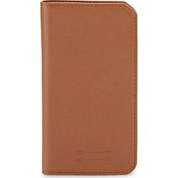 Uri Minkoff Saffiano Leather Folio iPhone 7 Case - Brown found on Bargain Bro India from Saks Fifth Avenue for $35.00
