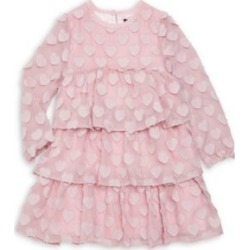 Little Girl's & Girl's Novelty Heart Tiered Chiffon A-Line Dress found on Bargain Bro UK from Saks Fifth Avenue UK