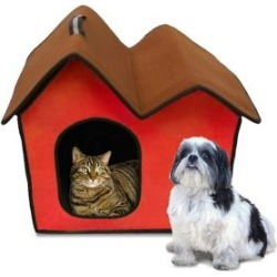 Folding Zip Up Cotton Pet Home