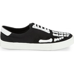 Amiri Men's Skeleton Slip-On Sneakers - Black White - Size 43 (10) found on MODAPINS from Saks Fifth Avenue for USD $325.00
