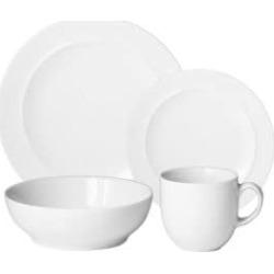 Four-Piece Glazed Dinnerware Set