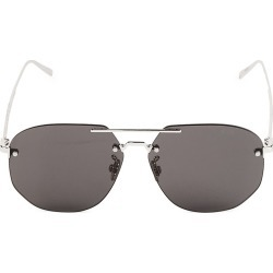 Berluti Men's 59MM Metal Navigator Sunglasses - Black Brown found on MODAPINS from Saks Fifth Avenue for USD $480.00