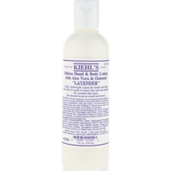 Deluxe Hand & Body Lotion with Aloe Vera & Oatmeal - Lavender