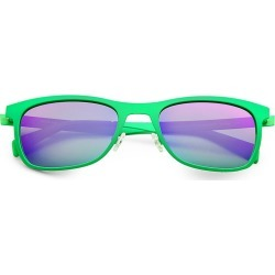 Italia Independent Men's Metal Sunglasses - Green found on MODAPINS from Saks Fifth Avenue for USD $103.50