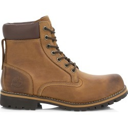 Timberland Men's Rugged Waterproof Leather Combat Boots - Brown - Size 12 found on Bargain Bro from Saks Fifth Avenue for USD $136.80
