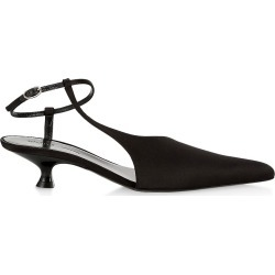 Khaite Women's Seville Satin Pumps - Black - Size 6 found on MODAPINS from Saks Fifth Avenue for USD $780.00