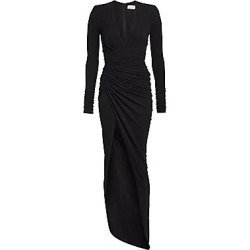 Alexandre Vauthier Women's Stretch Jersey Ruched Gown - Black - Size 36 (4) found on MODAPINS from Saks Fifth Avenue for USD $2245.00