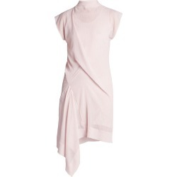 Nina Ricci Women's Rober Gathered Asymmetric Dress - Light Pink - Size 2 found on MODAPINS from Saks Fifth Avenue for USD $675.00