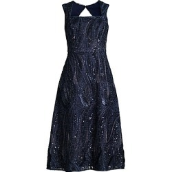 Aidan Mattox Women's Square-Neck Beaded A-Line Dress - Twilight - Size 12 found on MODAPINS from Saks Fifth Avenue for USD $395.00