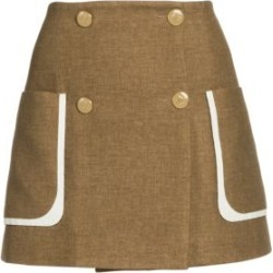 Tweed-Print Flannel Mini Skirt found on Bargain Bro Philippines from Saks Fifth Avenue AU for $1797.11
