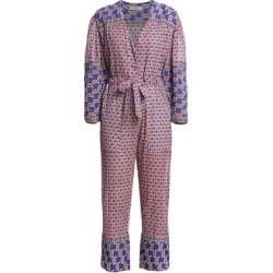 Bianca Paisley Long-Sleeve Jumpsuit found on Bargain Bro India from Saks Fifth Avenue AU for $247.70