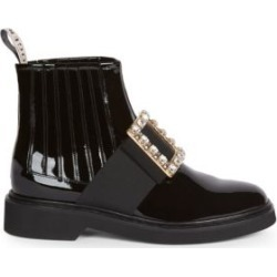 Viv Rangers Strass Patent Leather Chelsea Boots found on Bargain Bro India from Saks Fifth Avenue Canada for $2020.82