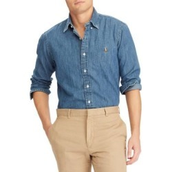 Classic Fit Denim Shirt found on MODAPINS from The Bay for USD $109.50