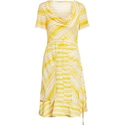 Altuzarra Women's Cowlneck Stripe Dress - Tuscan Sun - Size 46 (12) found on MODAPINS from Saks Fifth Avenue for USD $1295.00