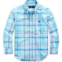 Ralph Lauren Boy's Plaid Cotton Shirt - Size 5 found on Bargain Bro India from Saks Fifth Avenue for $45.00