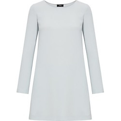 Theory Women's Long Sleeve Paneled Shift Dress - Silver Ice - Size Medium found on Bargain Bro India from LinkShare USA for $395.00