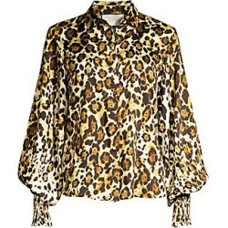 Alexis Women's Romana Animal Print Top - Animal Print - Size Large found on MODAPINS from Saks Fifth Avenue for USD $207.90