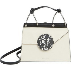Danse Lente Women's Phoebe Bis Accordion Leather Bag - White found on MODAPINS from Saks Fifth Avenue for USD $495.00