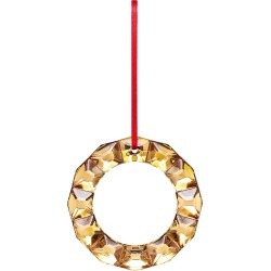 Baccarat 20K Yellow Gold Painted Wreath Ornament found on Bargain Bro India from Saks Fifth Avenue for $150.00