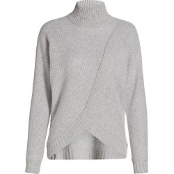 Saks Fifth Avenue Women's COLLECTION Cashmere Turtleneck Sweater - Aspen Grey - Size XS found on Bargain Bro from Saks Fifth Avenue for USD $74.44