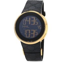 Gucci Men's I-Gucci Digital Watch - Black Gold found on MODAPINS from Saks Fifth Avenue for USD $1495.00
