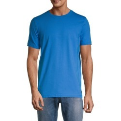 Crewneck Cotton-Blend T-Shirt found on Bargain Bro India from Saks Fifth Avenue OFF 5TH for $49.99