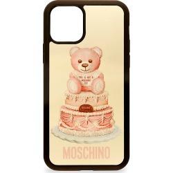 Moschino Women's iPhone 11 Pro Teddy Phone Case - Fuchsia Multi
