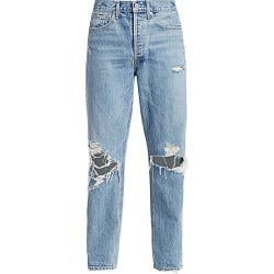 Agolde Women's 90s Mid-Rise Loose-Fit Distressed Jeans - Fallout - Size 25 (2) found on MODAPINS from Saks Fifth Avenue for USD $188.00