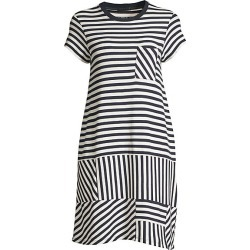 Pique Stripe T-Shirt Dress found on MODAPINS from Saks Fifth Avenue for USD $250.00