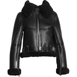 Acne Studios Women's Shearling Coat - Black - Size 40 (10) found on MODAPINS from Saks Fifth Avenue for USD $2600.00