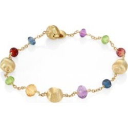 Africa 18K Yellow Gold & Mixed Gemstone Station Bracelet found on Bargain Bro India from Saks Fifth Avenue Canada for $1272.71