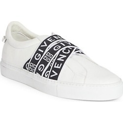 Givenchy Men's Urban Street Leather Low-Top Sneakers - White Black - Size 45 (12) found on MODAPINS from Saks Fifth Avenue for USD $695.00