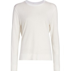 Helmut Lang Women's Sync Jersey Top - Dove - Size Medium found on MODAPINS from Saks Fifth Avenue for USD $57.60