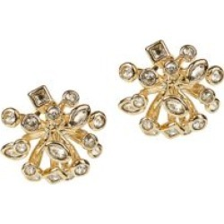 10K Goldplated & Crystal Burst Stud Earrings found on Bargain Bro Philippines from Saks Fifth Avenue Canada for $171.39