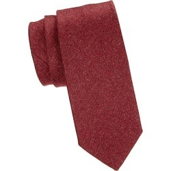 Isaia Men's Cashmere Tie - Red