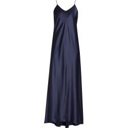 Adriana Iglesias Women's Jadi Silk Slip Dress - Navy Blue - Size 40 (8) found on MODAPINS from Saks Fifth Avenue for USD $1550.00