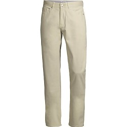 Peter Millar Men's Crown Ultimate Sateen Five-Pocket Pants - Sand - Size 42 found on Bargain Bro Philippines from Saks Fifth Avenue for $149.00
