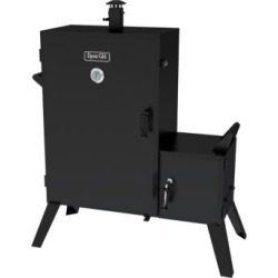Wide Body Vertical Offset Charcoal Smoker