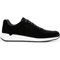Vince Men's Garrett Velvet Sneakers - Black - Size 11 M found on Bargain Bro India from Saks Fifth Avenue for $250.00