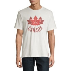 Cotton Maple Leaf Graphic Tee found on MODAPINS from The Bay for USD $18.00