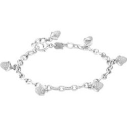 Mikado 18K White Gold & Diamond Pavé Acorn Charm Bracelet found on Bargain Bro Philippines from Saks Fifth Avenue Canada for $10378.37